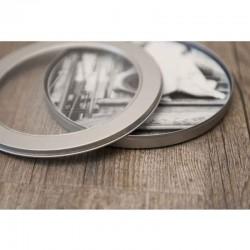 Disc Metal Case