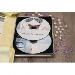 Metal Case for 2 Discs