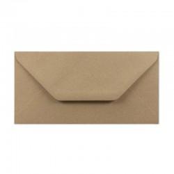 Envelope DL 210x120 mm. Brown