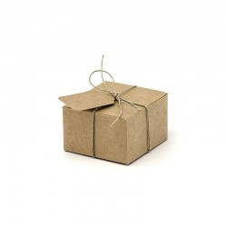 Gift Box 60x55x35 mm. with Tag